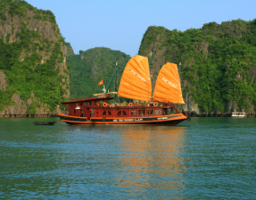 WH28 - Land Only 5D4N Hanoi Halong Stay On Cruise + City Tour Hanoi ( JAN - DEC 2017 )