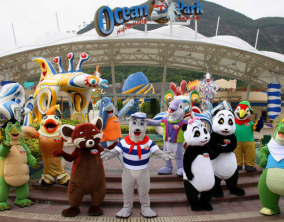4D Hongkong Ocean Park + Disney (11Jul - 31Oct'17) WH01 BY CX